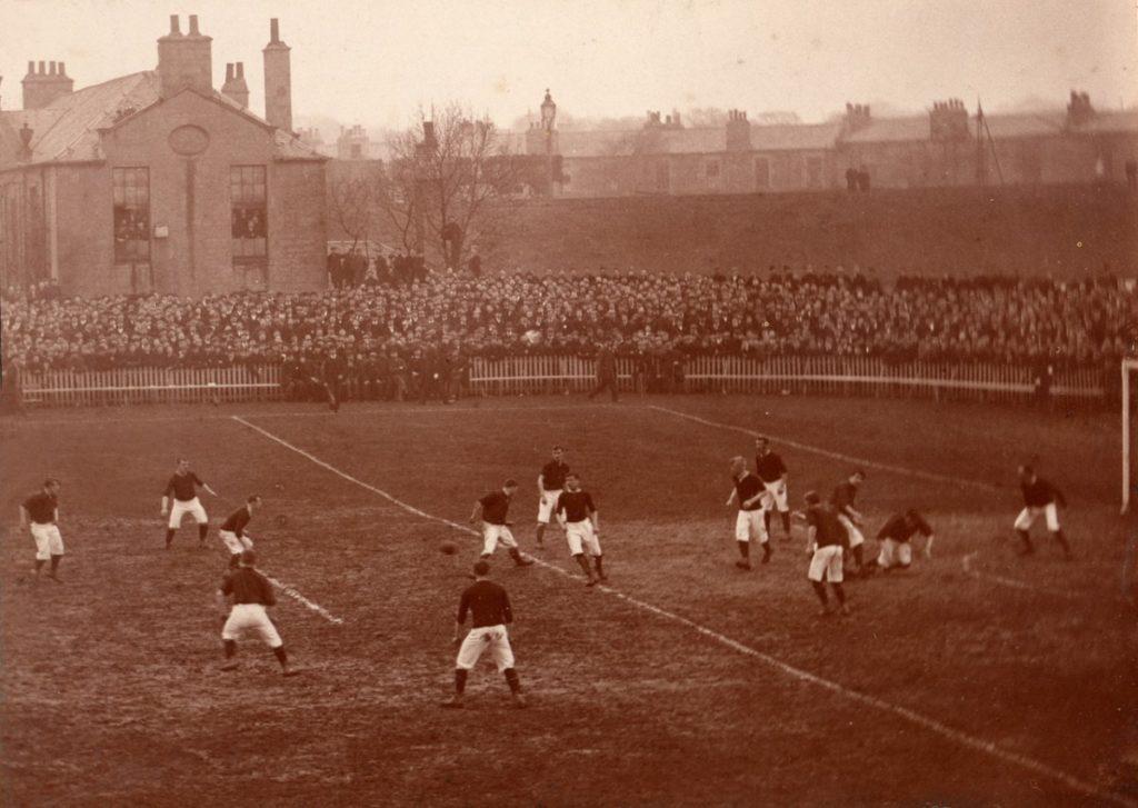 1896 Scottish Cup Final Hearts v Hibs
