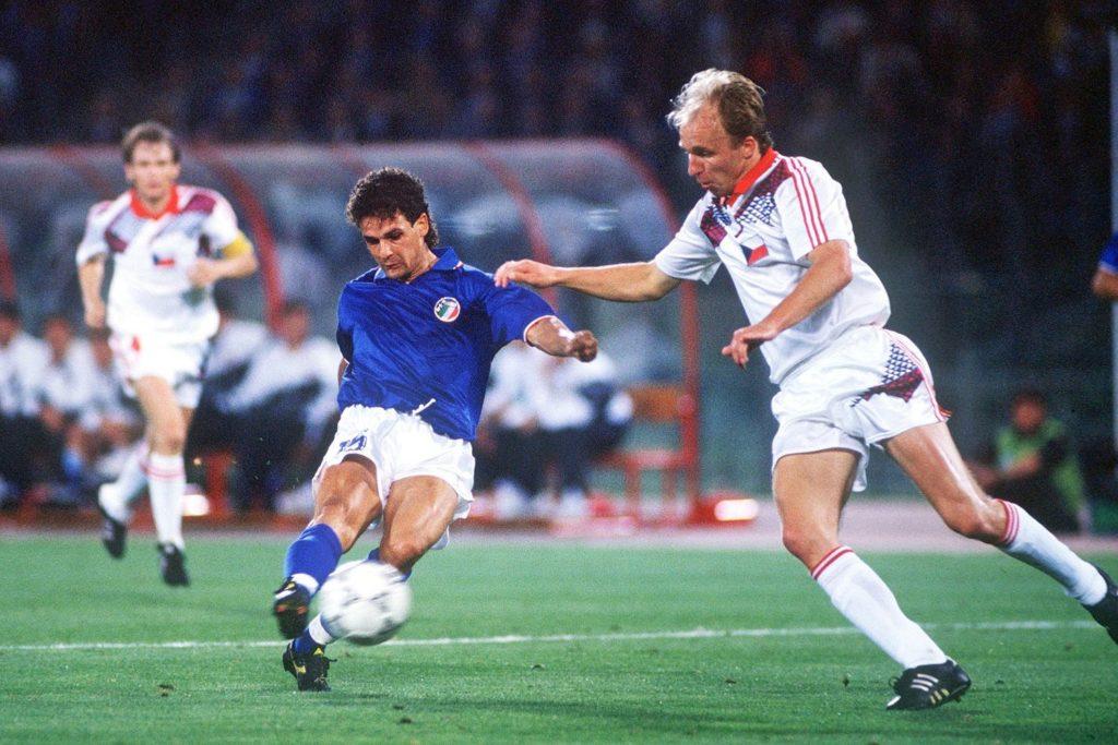 Gol di Baggio contro la Cecoslovacchia