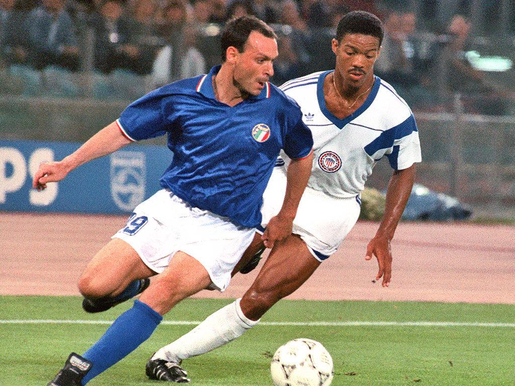 Italia vs USA - Salvatore Schillaci e Jimmy Banks