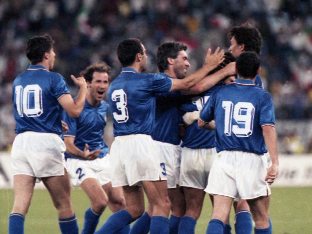 Numeri tridimensionali maglia Itali 90
