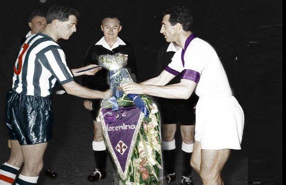 Fiorentina Glasgow Rangers finale Coppa delle Coppe 1961 a colori