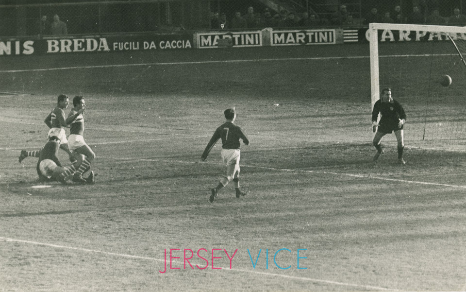 Fiorentina vs Sampdoria 4-0 10 gennaio 1960