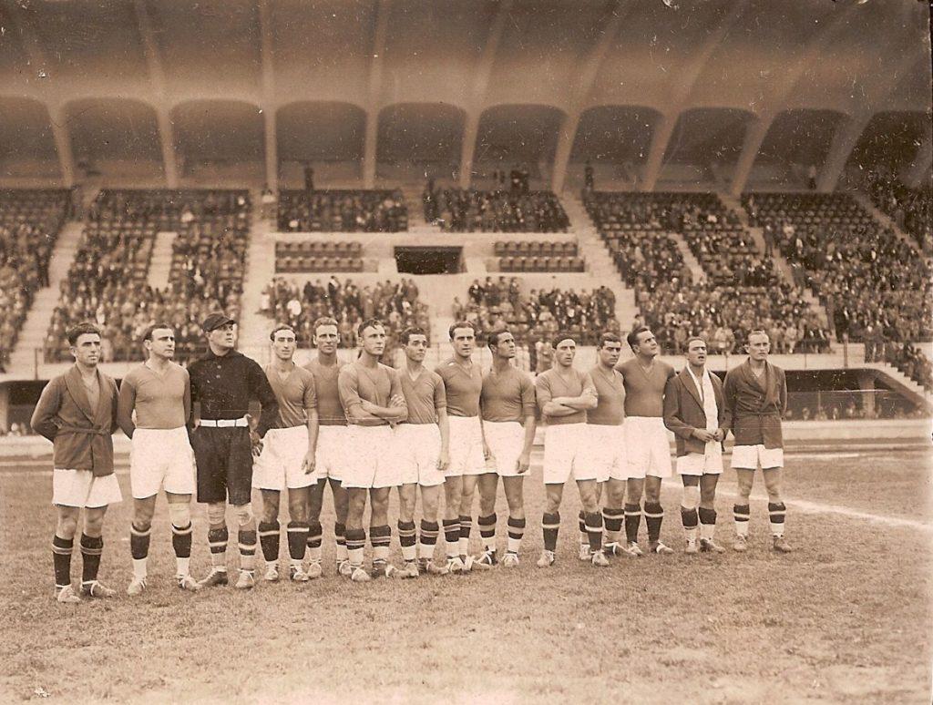 Fiorentina vs Admiral Vienna nel 1931