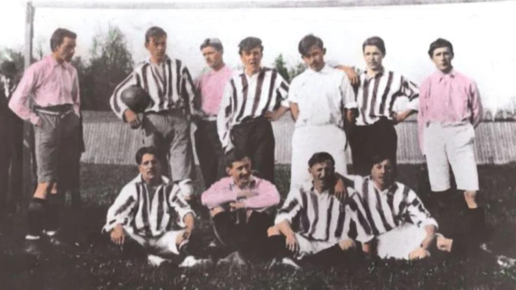 Juventus in bianco-nero